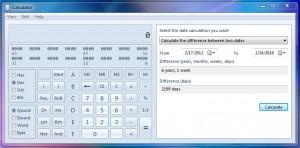 Windows7 Calculator