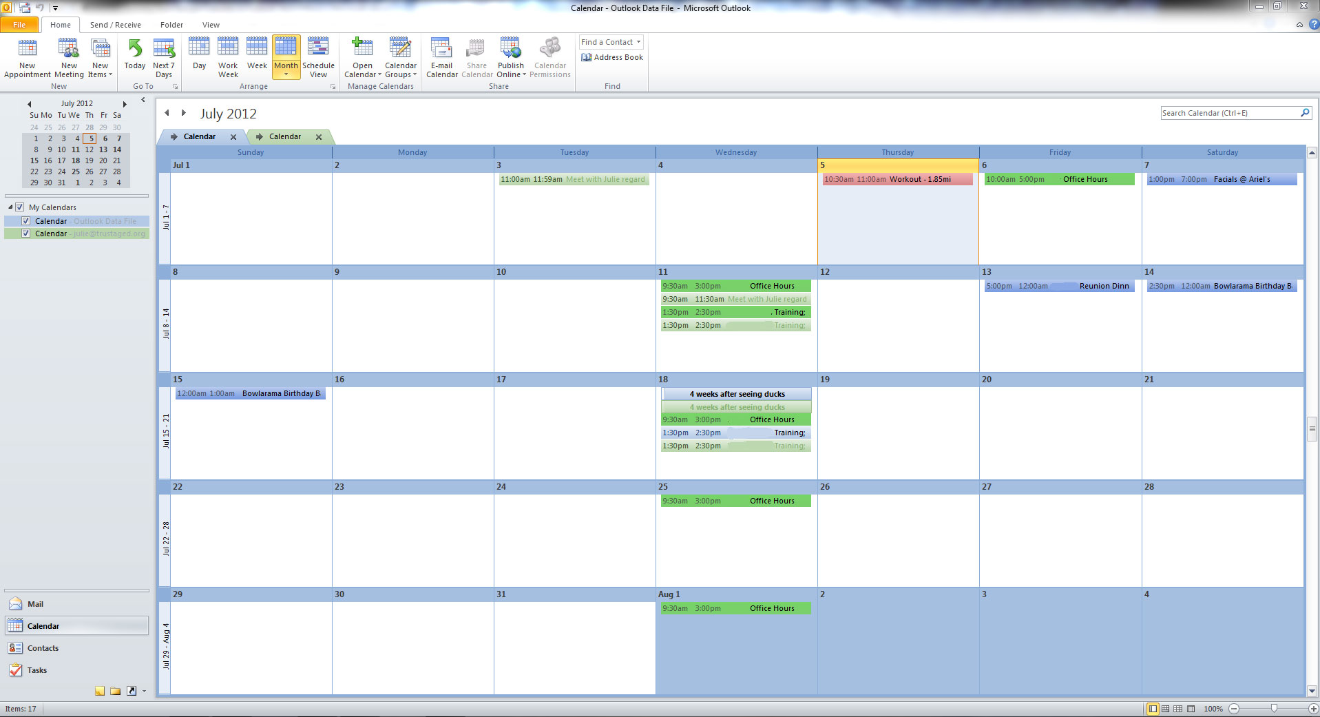 Sync google calendar with outlook