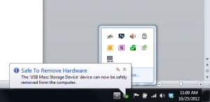 Safely Remove Hardware