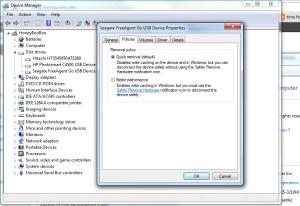 USB Management Settings