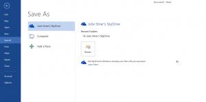 Office2013 Sky Drive Sync