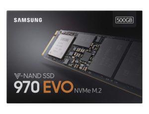 Samsung 970 EVO NVMe M.2 SSD